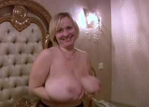 Mature hanging tits