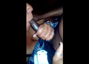 Black milf swallows