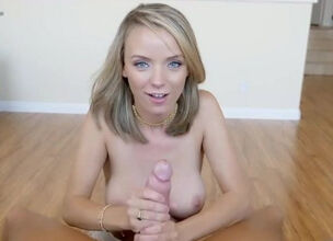 Beautiful blonde masterbating