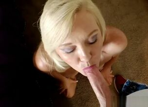 Blonde milf doggystyle